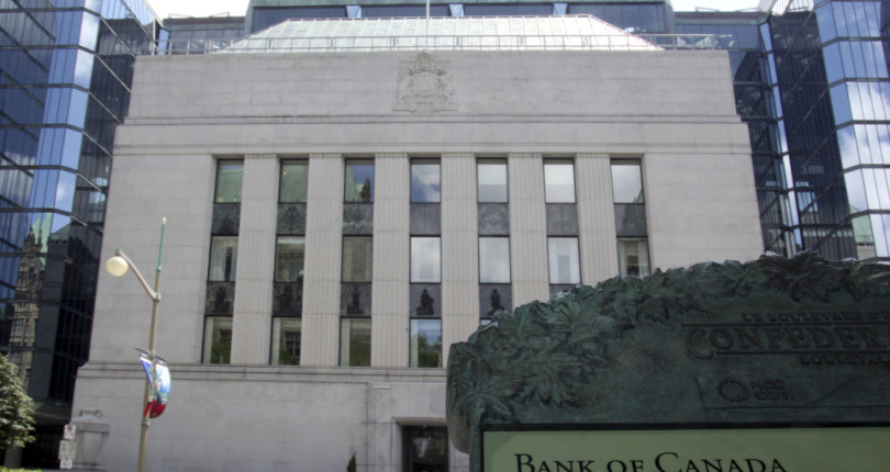 Bank of Canada interest rate unchanged